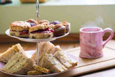 Doodle Alley - Afternoon Tea with a Pottery Painting Class for Two or Four - Save 0%