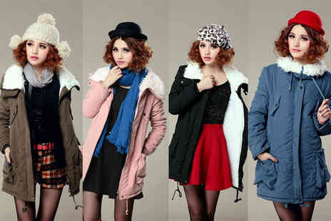 EF Mall - Lamb wool coat  choose from four colours - Save 79%