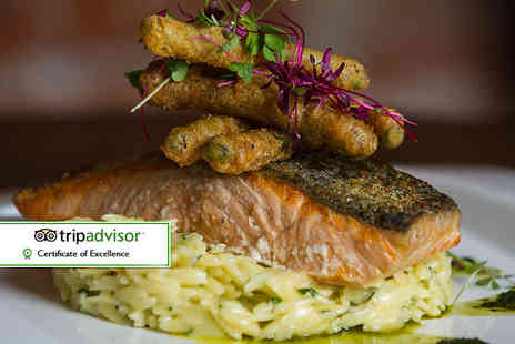 The Salty Dog Hotel - Two course bistro dining for two with a glass of Prosecco each - Save 52%