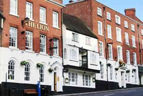 The Lion Hotel - Historic Shropshire Stay with Dinner & Bubbly - Save 35%