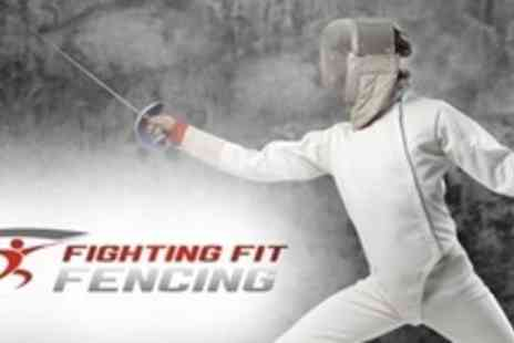 Fighting Fit Fencing - Four Week Beginners Course in Fencing For One - Save 61%