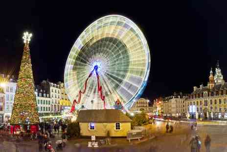 Abbey Tours UK - £49 instead of £130 for a Christmas market day trip to Lille, France with coach travel from Abbey Tours UK - Leave from Tower Hill or Dartford and save 62% - Save 62%
