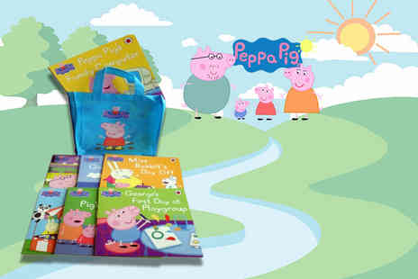 PCS Books - Peppa Pig 10 book collection - Save 64%