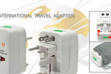 Silicon17 - Travelite Universal Travel Power Adapto - Save 60%