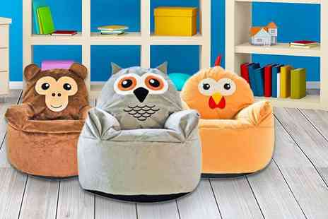 ViVo Technologies - Kids animal beanbag choose from nine designs - Save 76%