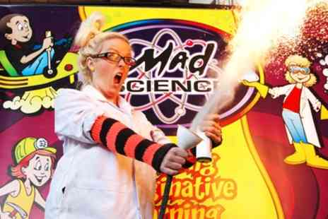 Mad Science West Midlands - Warwick Halloween Camp tickets on 24 to 26 October - Save 44%