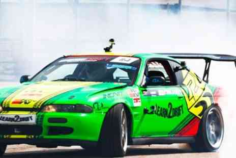 Learn 2 Drift - Half Day High Speed Drifting Experience with 3 Laps - Save 65%