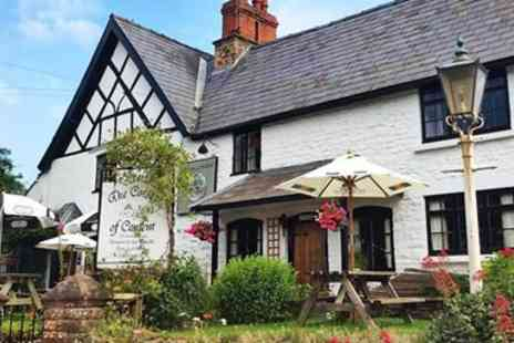 The Cottage of Content - Meal & Wine for 2 at Country Pub of the Year 2017 - Save 44%