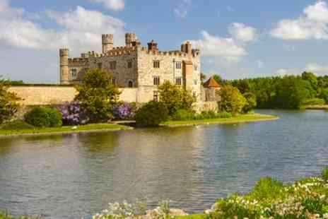 Premium Tours - Leeds Castle, Cliffs of Dover and Canterbury Tour with Thames Cruise for One Child or One Adult - Save 52%
