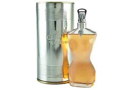 Groupon Goods Global GmbH - Jean Paul Gaultier Classique 100ml EDT Spray for Her With Free Delivery - Save 36%