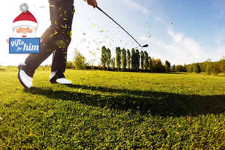 West Lothian Golf Club - Holes of golf for one person with a bacon roll and hot drink - Save 60%