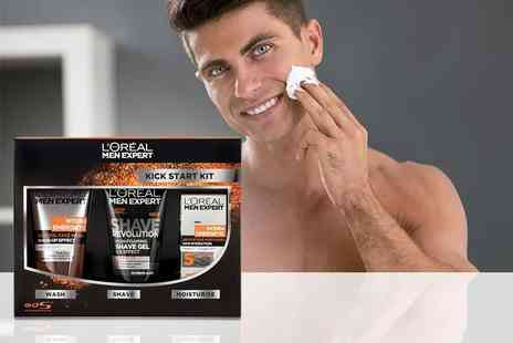 Orion GB - LOreal Men Expert Hydra Energetic Kick Start gift set - Save 63%