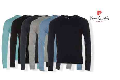 Bluebell Retail - Pierre Cardin v neck knitted jumper choose from seven colours - Save 0%