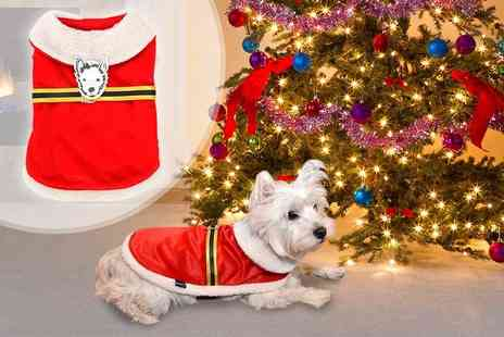LaRoc - Santa Claus dog outfit choose from four sizes - Save 33%