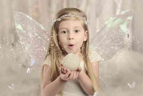 Pop Photography - Kids Winter Themed Photoshoot with Costumes, Mug, Two Keyring and Four Prints - Save 0%