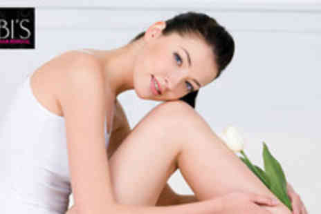 KBI Laser Hair Removal - Six sessions of IPL laser hair removal on 1 medium or 2 small areas - Save 89%