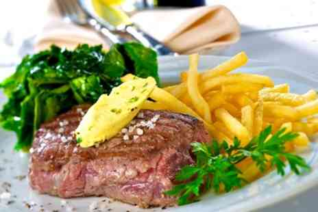 Liberte Bar - Steak Frites and Wine for Two or Four - Save 54%
