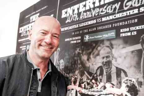 Newcastle Legends - An Evening with Alan Shearer Entry for One Plus Optional Photo Opportunity, Nine Sports Bar & Lounge - Save 50%