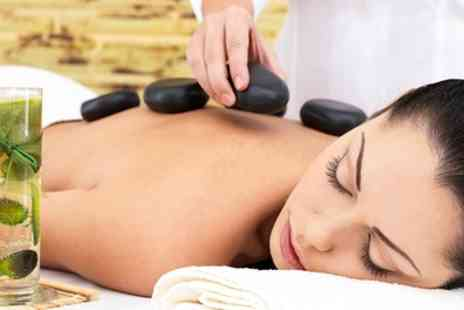 The Sun Spa - One Hour Hot Stone Massage - Save 49%