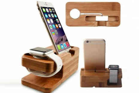 Hc Electronics Technology - 2 in 1 Apple iWatch Charging Dock - Save 64%