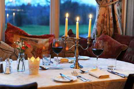 Glewstone Court Hotel - Wye Valley Top Rated Tasting Menu Dinner for 2 - Save 34%