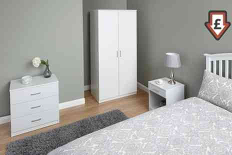 Groupon Goods Global GmbH - Copenhagen Three Piece Bedroom Set With Free Delivery  - Save 63%