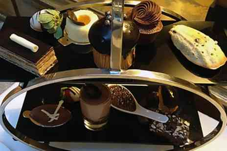 The Cooks Caf - Chocolate Afternoon Tea for Two or Four - Save 0%