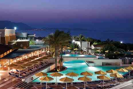 ClearSky Holidays - Four or Seven night 5 Star all inclusive Rhodes break with flights - Save 32%