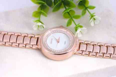 Neverland Sales - The Lewis Watch with Crystals From Swarovski With Free Delivery - Save 84%
