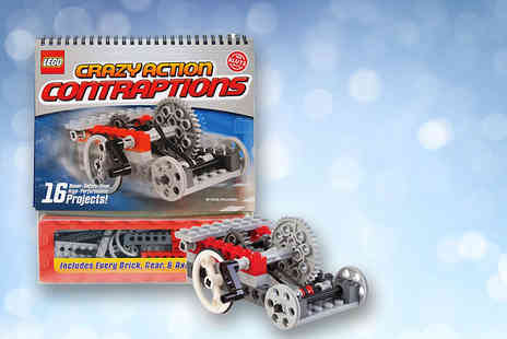 Price Cut Books - A Lego Crazy Action Contraptions activity book - Save 0%