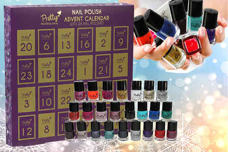 Ckent - Pretty Professional nail polish Christmas advent calendar - Save 44%