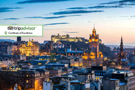 Brooks Hotel - One or Two night Edinburgh stay for two including afternoon tea, a bottle of Prosecco and late check out - Save 54%