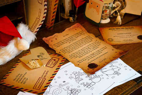 Sender Scroll - Personalised Santa letter Plus delivery Included - Save 50%