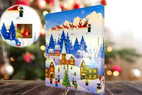 Internet Shop UK - Mini brick men Christmas advent calendar - Save 68%