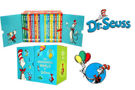 PCS Books - Hardback The Wonderful World of Dr. Seuss 20 book gift box - Save 78%