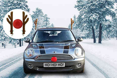 London Exchainstore - Rudolph the reindeer car decoration set - Save 70%