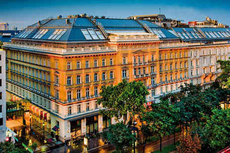 Grand Hotel Wien - Five Star 4 nights Stay in a Deluxe Room - Save 62%