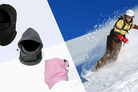 Apricot Leaf - Thermal Ski Hood Three Colours - Save 60%