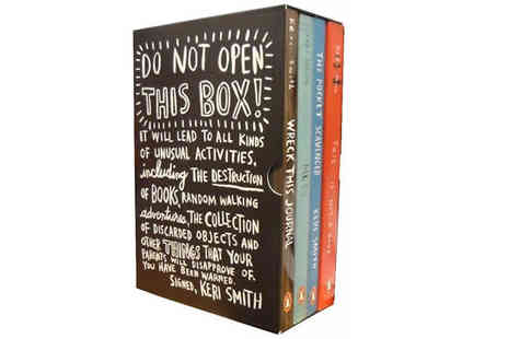 Snazal - Do Not Open This Box Four Book Collection - Save 0%