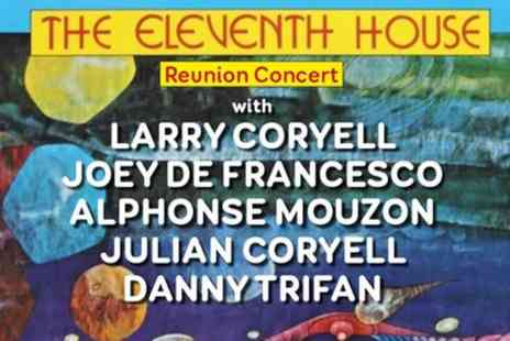 The Eleventh House Reunion - Tickets to The Eleventh House Reunion , The Rah Rah Room on 1 November - Save 47%