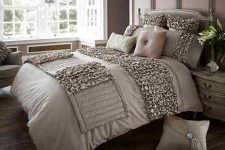 Groupon Goods Global GmbH - Ruffles Duvet Sets in Choice of Colours and Sizes - Save 54%