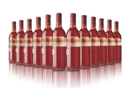 The Vineyard Club - 12 Bottles of Viñapeña Rosé Wine With Free Delivery - Save 66%