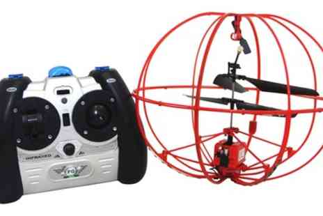 Groupon Goods Global GmbH - Flying Gadgets Remote Controlled Limited Edition Battle UFO  - Save 38%