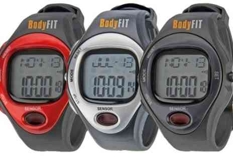 Groupon Goods Global GmbH - BodyFit Pulse Watch in a Choice of Colour - Save 63%