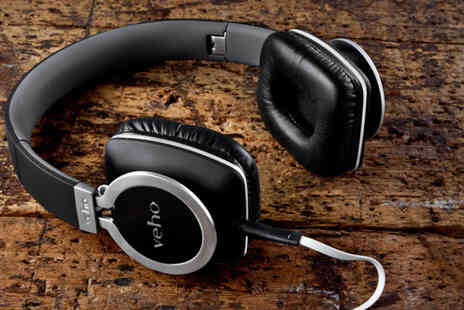 Deals Direct - A pair of Veho 360° Z8 designer aluminium folding headphones - Save 71%
