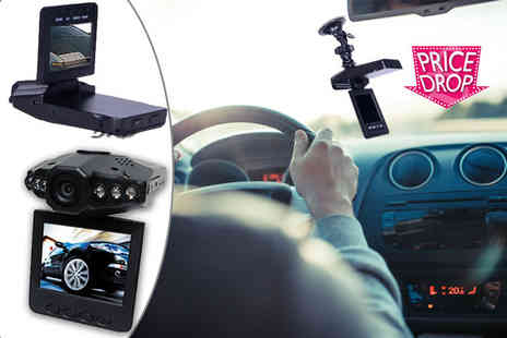 EF Mall - HD DVR dashcam with 2.5 Inch LCD screen - Save 87%