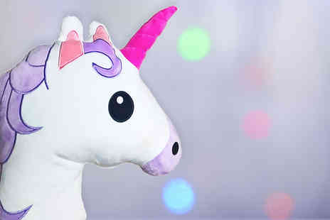 JMD Online - Unicorn emoji cushion - Save 56%