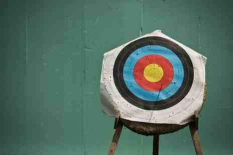 Target Sports World - 90 Minute Crossbow Lesson for Up to Three - Save 0%