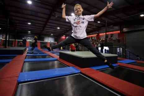 Jump Division - One Hour Trampoline Jump Session for Up to Four - Save 0%