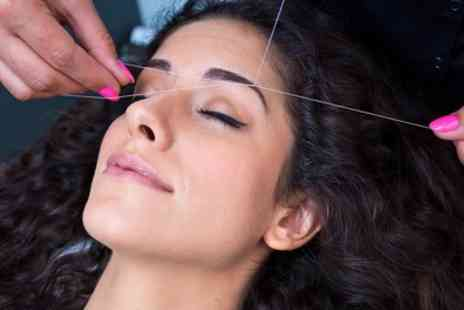Peaches And Pearl Beauty Salon - Eyebrow, Lip and Chin Threading with Optional Tinting - Save 0%